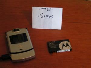 The iSuck phone